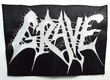GRAVE   EMBROIDERED BACK PATCH