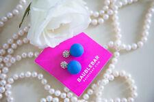 Baublebar Pave Bubblegum 360 Studs Blue and Crystal