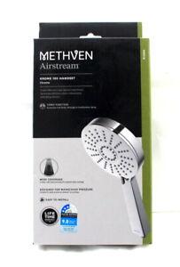 Methven WELS 3 Star 9L/min 120mm 3 Function Krome Handset