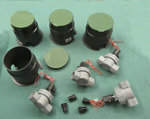 Watering System Components Nozzles and Solenoid Valves