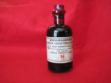 Engelhard Hanovia Liquid Gold Division, 100 grams liquid bright gold, sealed