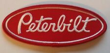 PETERBILT TRUCK SMALL PATCH  Trucker / Biker patch Sew/Iron on   4 x 1.75 inches