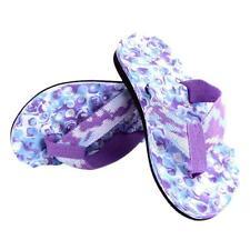 US Summer Women Ladies Beach Flip Flops Flat Slippers Massage Sandals Shoes New