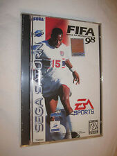 FIFA: Road To World Cup 98 (Sega Saturn) New, Sealed!