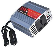 Inverter con Onda Sinusoidale Convertitore Tensione da Auto DC-AC 150W con USB