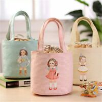 Portable Insulated Thermal Cooler Lovely Lunch Box Carry Tote Picnic Storage Bag