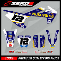 Custom MX Graphics Kit: HUSQVARNA TC 50 TC 65 2017 - 2020 SE1 BLUE