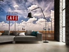 Wall mural photo wallpaper 315x232cm Route 66 USA home decor living room art