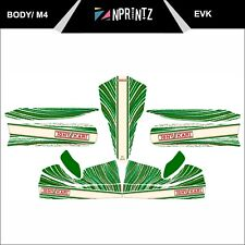 M4 2013 TONYKART EVK STYLE FULL KART STICKER KIT - KARTING - OTK - EVK M4
