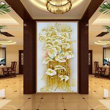 5D DIY diamond Painting crystal lily flower Embroidery Cross Stitcht Home Decor