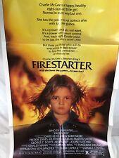 "Firestarter Movie Original 27x41"" Folded Poster 1984 NSS 840028"