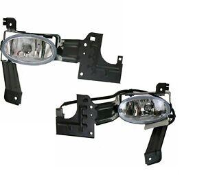 FITS HONDA ACCORD COUPE 2 DR 2011-2012 PAIR SET FOG LIGHTS DRIVING LAMPS BUMPER