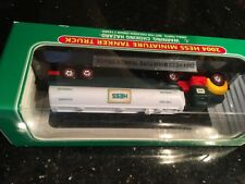 Nice! 2004 MINIATURE HESS TANKER RESCUE TRUCK MINI VEHICLE SERIES NEW IN BOX VGC