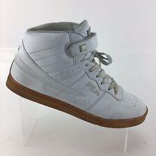 Fila Vulc 13 Mid Plus Athletic Sports White Sneakers Mens 10.5 Shoes R3S10