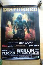 DISTURBED  - Konzertposter  Tour Poster 2008