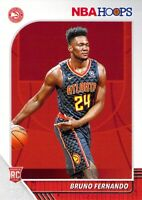 Bruno Fernando RC 2019-20 Panini NBA Hoops Base Rookie Card #228 Atlanta Hawks