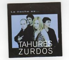 TAHURES ZURDOS Bruce Springsteen Spain Promo Cd Single BECAUSE THE NIGHT 2000