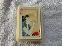 Vintage Geisha Girl Dainippon Playing Cards Far East Playing Cards