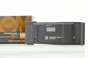 [Mint in Box] OLYMPUS RECORDATA BACK 4 For OM-4 Ti Recor Data back4 From Japan