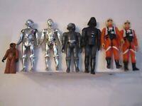 (7) VINTAGE STAR WARS FIGURES - G.M.F.G.I. - 1977-1982 -DARTH VADER & MORE BBA11