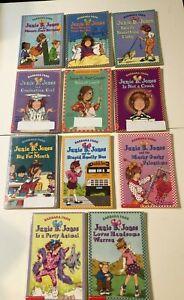 Junie B. Jones by Barbara Park 11 Titled bundle of paperbacks 1990's Used Good
