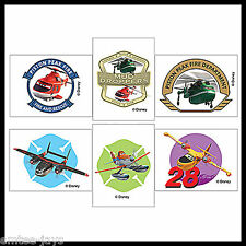 Disney Planes Fire and Rescue Tattoos - Party Favours x 12 Birthday Supplies