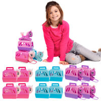 12pk Unicorn Stuffed Animal Toy And Pet Carrier Set Party Supplies For Girls
