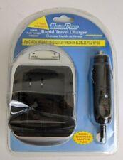 Camera Battery Car Charger Canon BP-508 511 512 522 535 Nikon EN-EL3 Fuji NP150