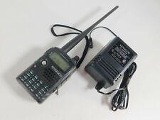 Kenwood TH-F6A Handheld Ham Radio FM Tribander Transceiver + Charger (tested)