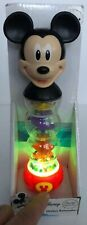 Disney Mickey Mouse Rainmaker HAP-P-KID Rattle Light Up Toy Baby/Toddler~NEW~