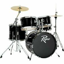Rogue D0518BK Black Steel Drum with Accessories - 5 Pieces