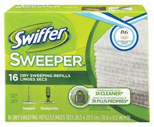 Swiffer  Sweeper  8 in. L Cloth  Mop Refill  16 pk