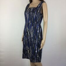 Ann Taylor Sleeveless Lined Sheath Dress Size 4US (@ Size 8) Office Work (AI14)
