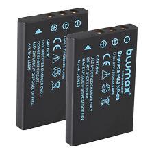 Batería 2x para Fuji np-60 | 65025 | finepix f401 Pentax kodak KLIC - 5000 Casio np-30