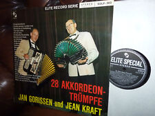 Jan Gorissen Jean Kraft, 28 Akordeon Trumpfe Elite SOLP 363 Switzerland  LP, 12""