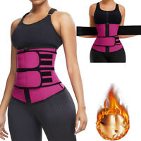 Waist Trainer Cincher Trimmer Sweat Belt Men Women Shapewear Gym Body Shaper