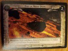 Lord of the Rings TCG Treachery and Deceit 18U135 Foot of Mount Doom CCG LOTR