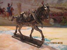 """Guerre Napoléon """"Figurine MHSP France"""" Le train d'artillerie"""" Cheval du train"""