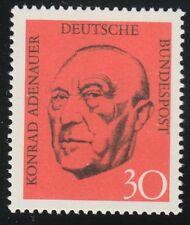 Germany 1968 MNH Mi 567 Sc 968 Konrad Adenauer.German statesman
