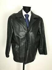 NLC Herren Schwere Vintage Lederjacke Jacke Sakko Gr.XL 100% Leder Echtleder