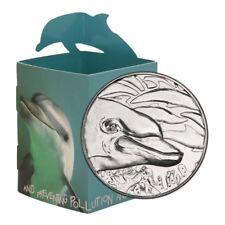 World Wildlife Fund Porpoise Medalic Issue 2009 Display Card Br. Unc