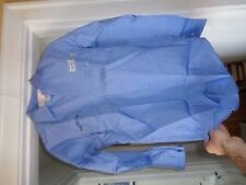 Vintage United Airlines Air Lines Ramp Service Uniform Work Shirt Lee Size Small