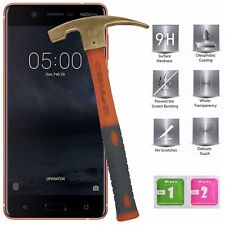 Nokia 5 Tempered Glass Screen Protector Easy Bubble-Free Installation