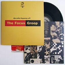 The Focus Groop - Stop-Motion Happening Vinyl LP & Download Code Ghost Box New