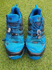adidas Mens Terrex Swift GORE-TEX trail running trainers Blue UK 10 Sports