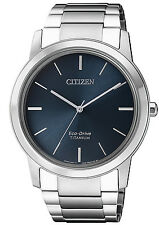 CITIZEN Herrenuhr Eco-Drive Super Titanium AW2020-82L