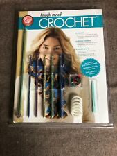 Boye Crochet Kit - I Taught Myself Crochet Beginners Kit New Dvd included