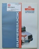 SUPER PRODUCTS SUPERSUCKER 1994 dealer brochure catalog - English - USA