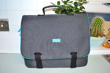 Ted Baker Bodywear grey briefcase / messenger bag ~ USED ONCE