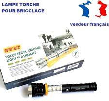 Lampe torche à LED rotative et pivotante pour bricolage Police 25W